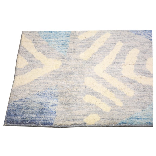 """Moroccan Hand Knotted Azilal Rug With Soft Texture,6'6""""x10'2"""" For Sale - Image 4 of 5"""