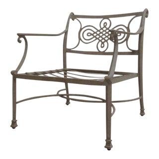 Woodard Landgrave Cast Classics Aluminum Patio Lounge Chair For Sale