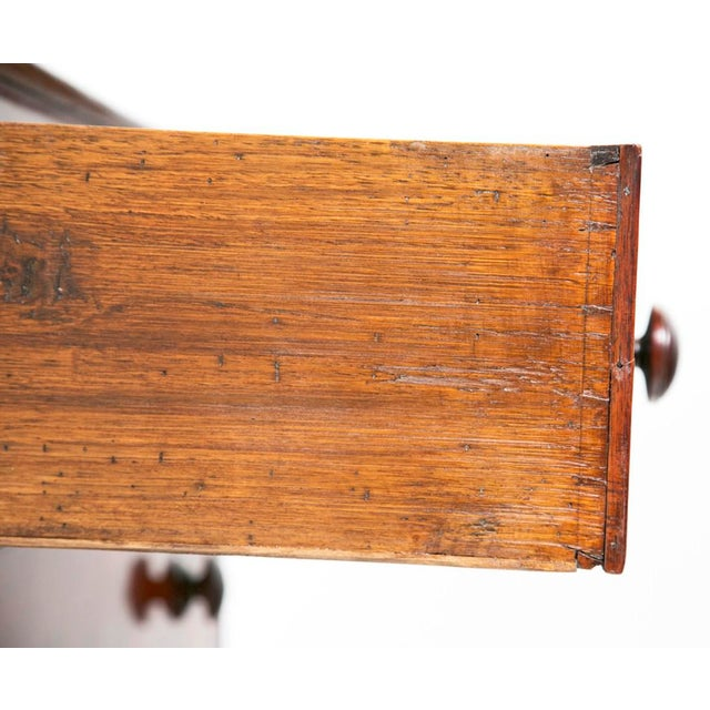 Brown 19th Century English Victorian Mahogany Chest For Sale - Image 8 of 9