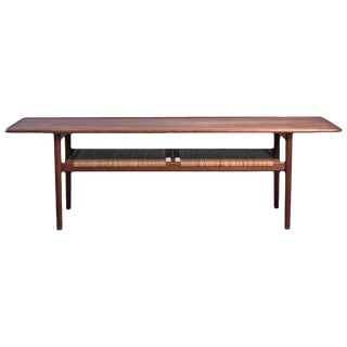 Hans Wegner At-10 Coffee Table Produced by Andreas Tuck, Denmark, 1950s For Sale