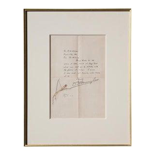 Oscar E. Berninghaus (1874-1952) - Illustrated Letter