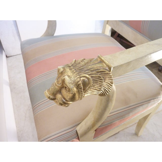 Modern Late 20th Century Lion Armchair For Sale - Image 3 of 8
