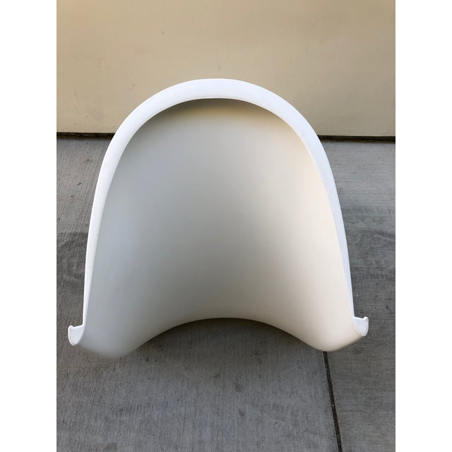 2010s White Verner Panton Chairs by Vitra- Set of 8 For Sale - Image 5 of 12