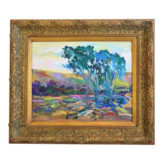Original Juan Guzman Ojai California Landscape Oil Painting For Sale