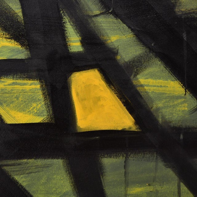 Original abstract art! La vie en jaune.