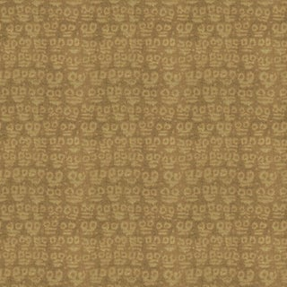 Hunt Slonem for Lee Jofa, Guardians Fabric, Taupe, 1 Yard For Sale