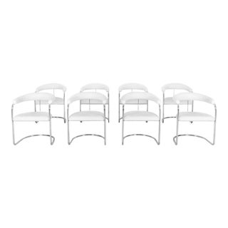 Anton Lorenz for Thonet Dining Chairs For Sale