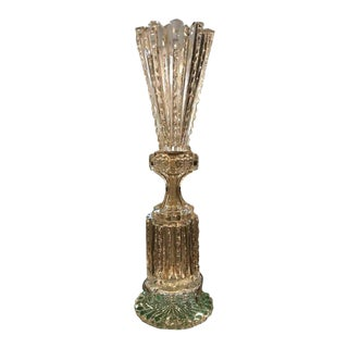 Russian Imperial Cut-Crystal Vase For Sale
