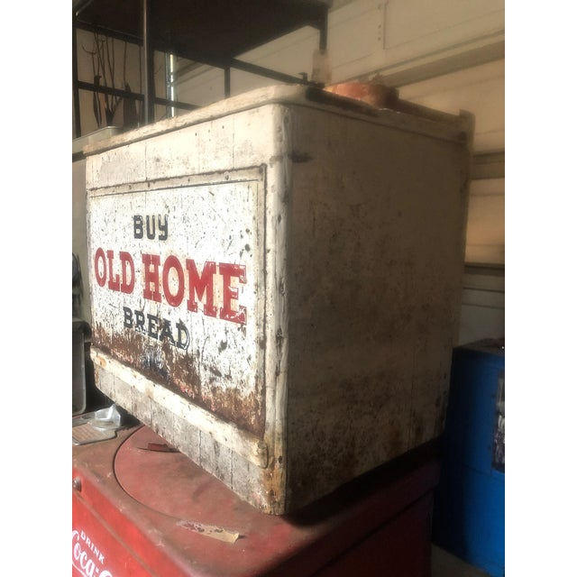 70s Nostalgia on *display* with this original *Old Home Bread* box and retail display piece. Whimsical, artful and...