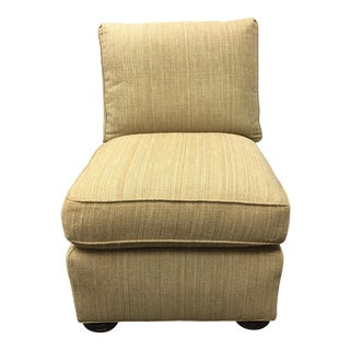 Hickory White Slipper Chair
