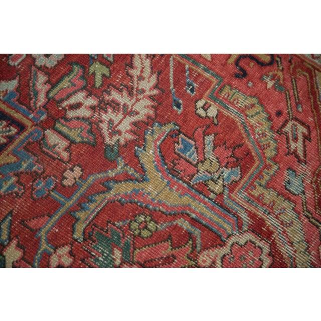 "Distressed Ahar Heriz Carpet - 8'2"" X 11'9"" - Image 10 of 10"