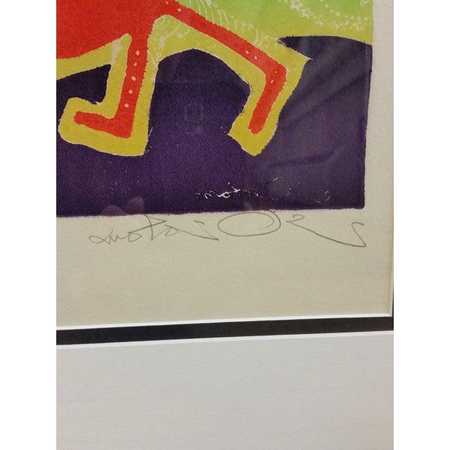 "Motoi Oi ""Playing Child Joy"" Print - Image 5 of 10"