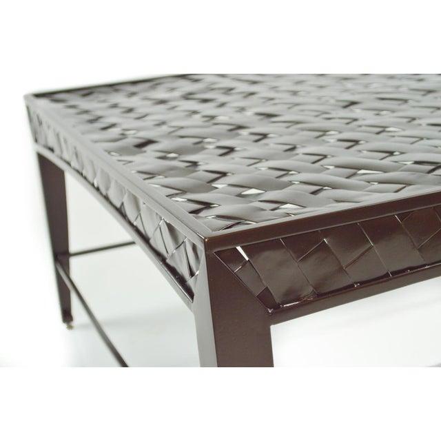 Woven Metal Coffee Table by Dakota Jackson - Image 6 of 6