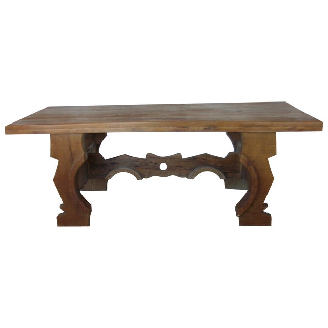 Mexican Oak Dining Table - Image 1 of 8