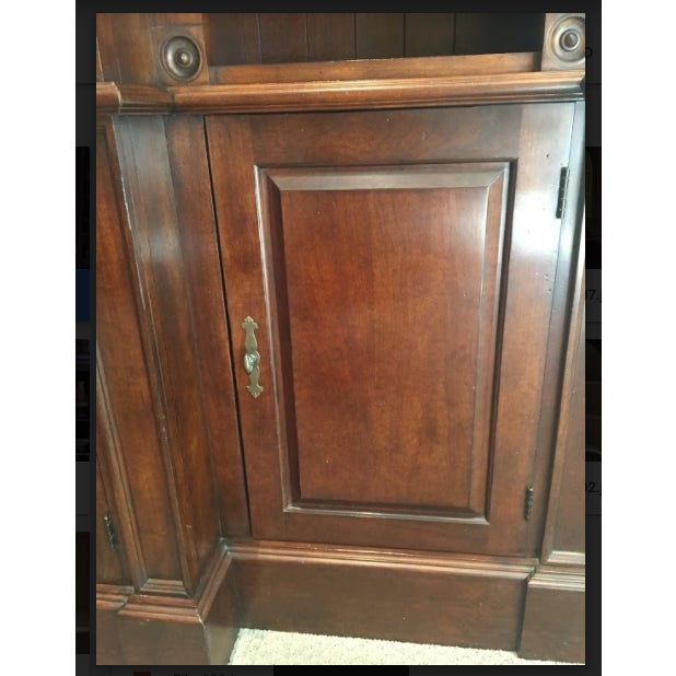 Harden Goddard Solid Cherry Library Cabinet For Sale - Image 5 of 7