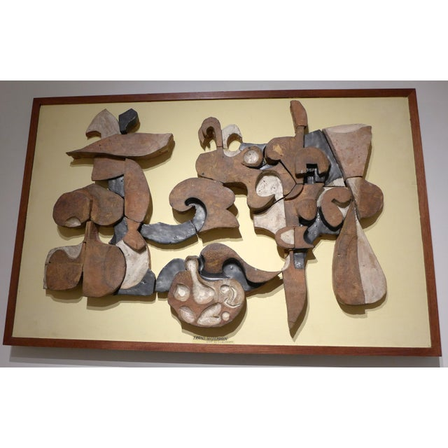 Abstract Important Frans Wildenhain Ceramic Mural For Sale - Image 3 of 9