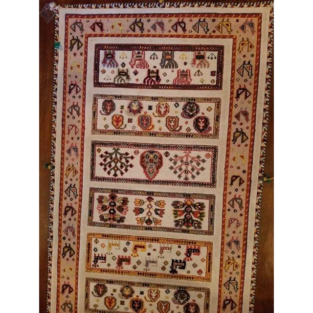 Textile 1970s Custom Runner Rug - 2′ × 6′ For Sale - Image 7 of 8