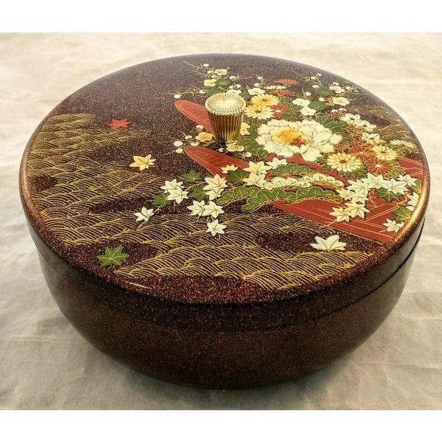 Japanese Mid Century Melamine Decorative Box - Image 2 of 5