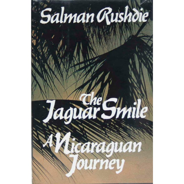 1980s The Jaguar Smile, a Nicaraguan Journey by Salman Rushdie - First Edition For Sale - Image 5 of 5