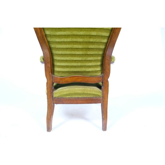 1890's French Rococo-Style Armchair For Sale - Image 11 of 13