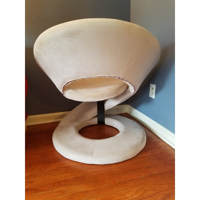 Art Deco Sculptural Spiral Lounge Chair After Louis Durot For Sale - Image 3 of 9