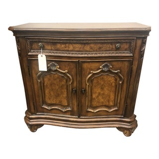 Traditional Drexel Wood 1-Drawer Server For Sale