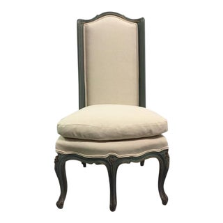Louis XV Style Slipper Chair For Sale