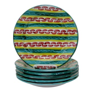 Italian Salad Plates - Set of 6 For Sale