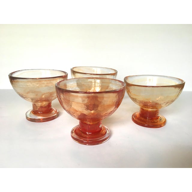 Art Glass Compote Dishes- Set of 4 - Image 4 of 5