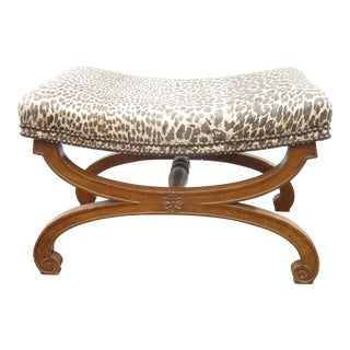 20th Century French Cerule Stool For Sale