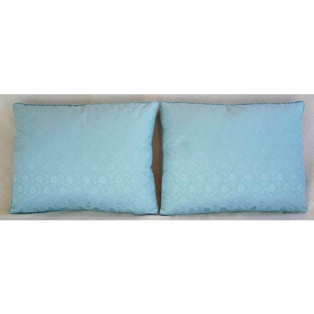 Powder Blue French Lelievre of Paris Pillows - a Pair - Image 3 of 11