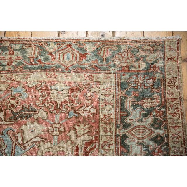 """Vintage Distressed Heriz Carpet - 6'8"""" X 9'6"""" For Sale - Image 10 of 13"""