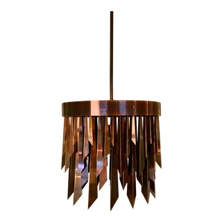 Arteriors Copper Waldorf Round Chandelier For Sale