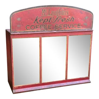 1920s Original McLaughlins General Store Coffee Dispenser For Sale