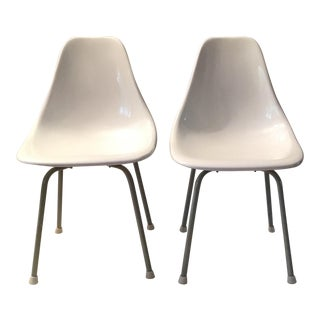 Vintage 1950's Mid Century Modern Early Charles Ray Eames Shell Chair - a Pair For Sale