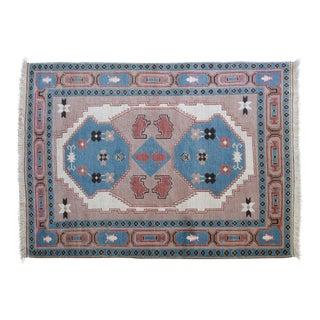 Vintage Ceyda Turkish Shiravan Rug - 5′8″ × 7′10″