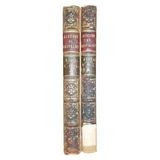 History of Chivalry in 2 Vols by Charles Mills 1825 For Sale
