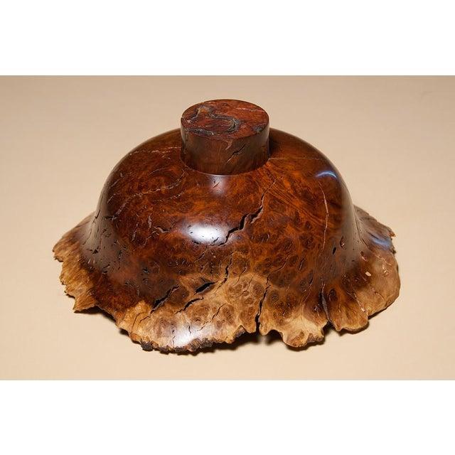 Hap Sakwa Hap Sakwa: A Fine Small Wild Lilac Bowl For Sale - Image 4 of 5