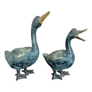 Antique Iron Ducks For Sale