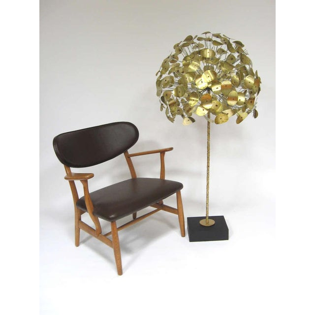 Oversize Dandelion Sculpture In Brass By Jere For Sale - Image 9 of 9