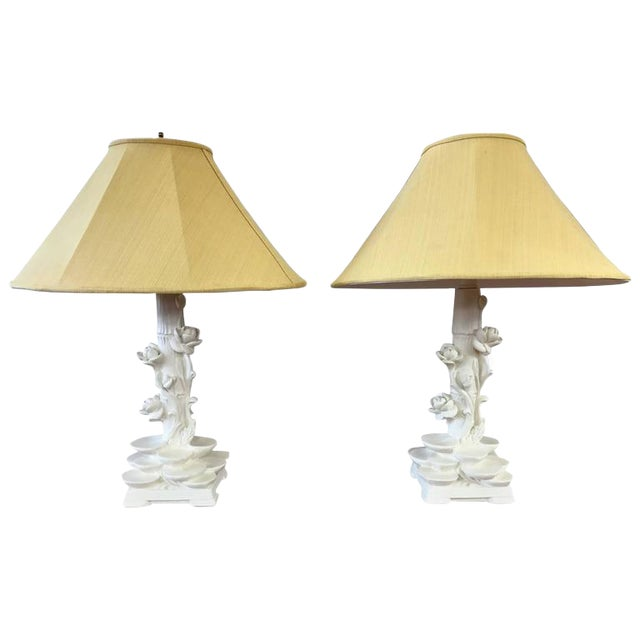 Pair of pieri chinoiserie table lamps in the style of serge roche pair of pieri chinoiserie table lamps in the style of serge roche mozeypictures Gallery