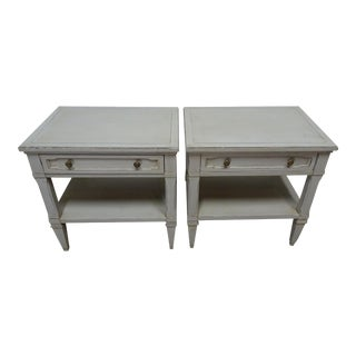 Gustavian Style Night Stands For Sale