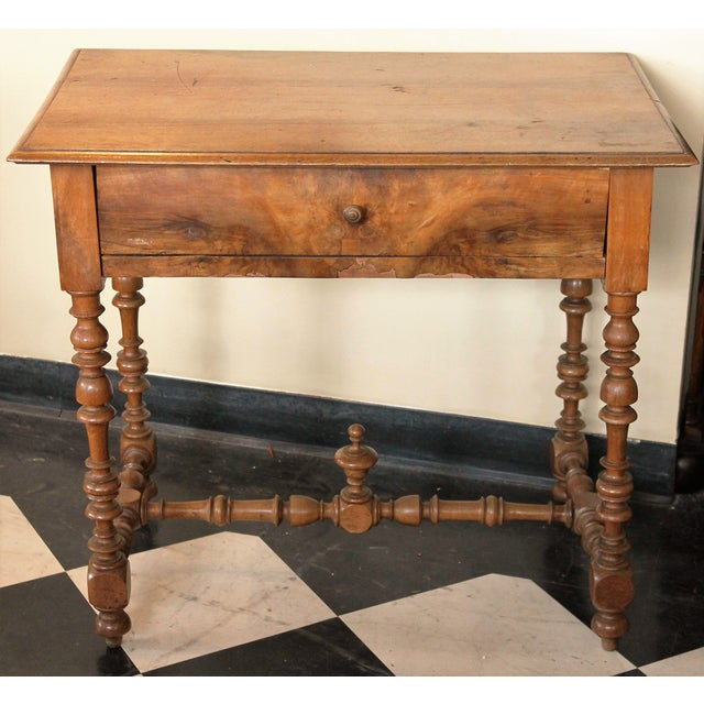 Antique French Side Table - Image 2 of 7