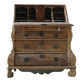 Dutch Rococo Painted Desk For Sale