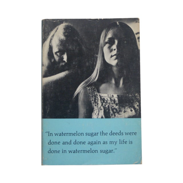 Brautigan's 1st Ed. 'In Watermelon Sugar' Book For Sale