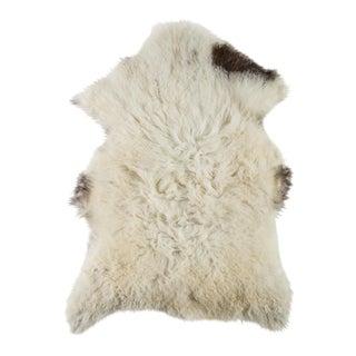 """Contemporary Natural Sheepskin Pelt - 2'3""""x3'4"""" For Sale"""