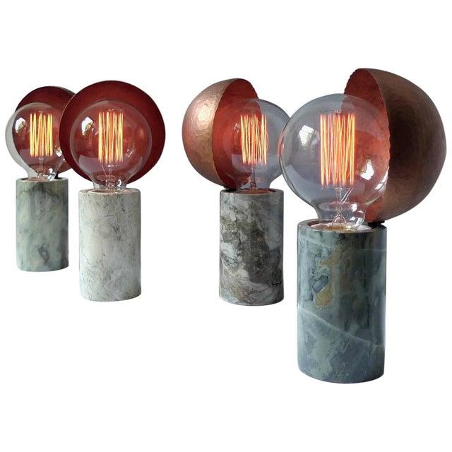 Marble Table Lamps, Sander Bottinga For Sale - Image 9 of 9