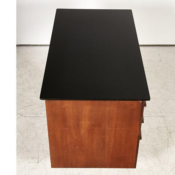 Brown Flanders Mid Century Desk For Sale - Image 8 of 8