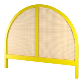 Eva Headboard - Queen - Citron For Sale