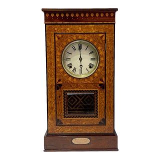 19th Century American Clock by Master Cabinetmaker Alexander Buell Griffin For Sale